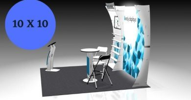 10 X 10 Booth Design