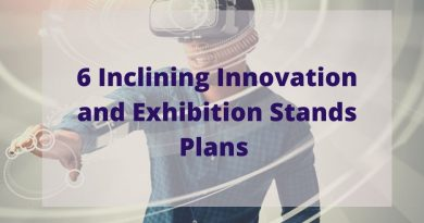 6 Inclining Innovations and Exhibition Plans