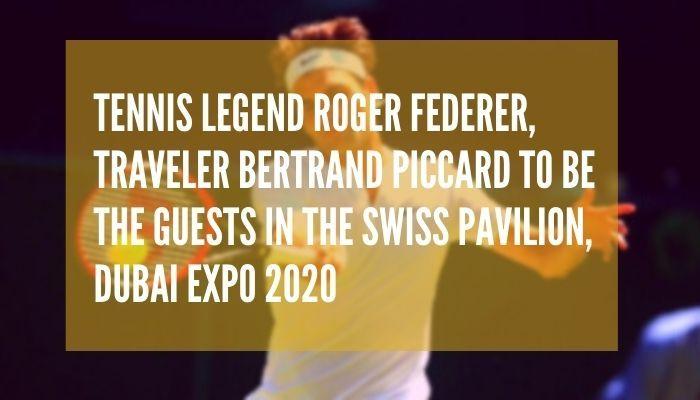 Roger federer Dubai Expo 2020